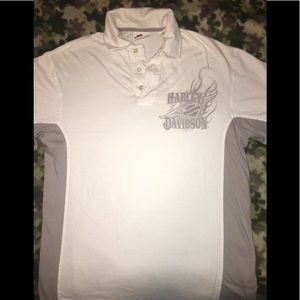 Harley Davidson collared casual tee